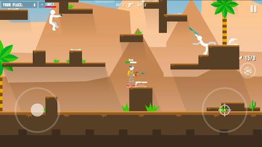 Stickman Battles: Online Shooter 1.0 screenshots 4