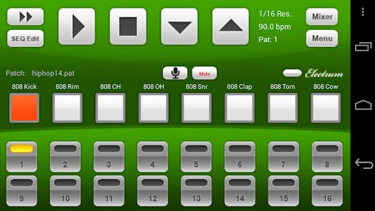 Electrum Drum Machine/Sampler – (MOD + APK) Download 1