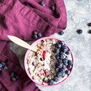 Blueberry Vanilla Oatmeal Recipe