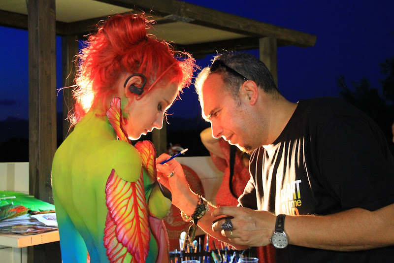 notte body painting di G.Papagno