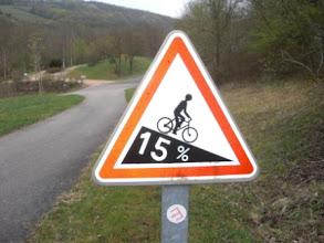 Photo: ...de cyclistes se tuent en descendant cette côte :/