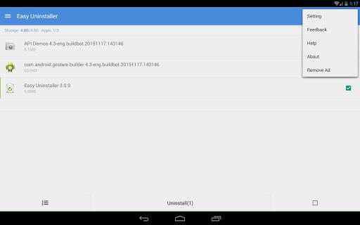 Easy Uninstaller App Uninstall 3.3.6 Screenshots 9