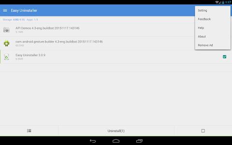 Easy Uninstaller App Uninstall v3.1.5 (Pro)