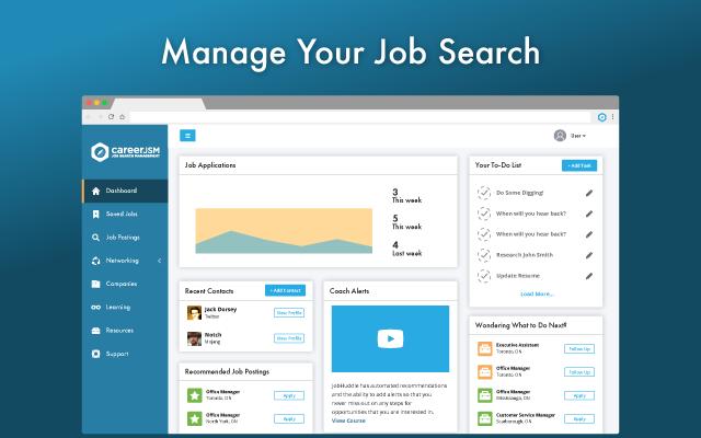 CareerJSM Job Tracker