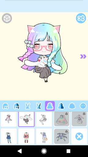 Cute Avatar Maker: Make Your Own Cute Avatar 2.0.2 Screenshots 6