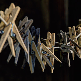 Clothes pegs by Doug Faraday-Reeves - Artistic Objects Other Objects ( clothes pegs )