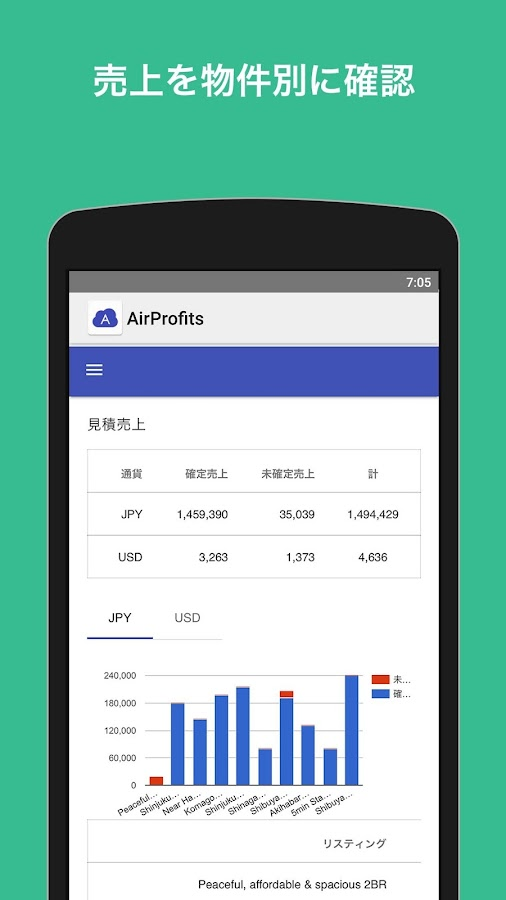 Air Profits for Airbnb 民泊管理- screenshot