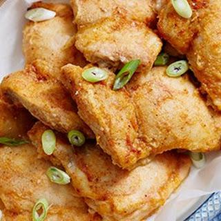 Baked Southern Buttermilk Chicken.