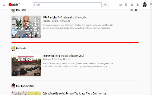 Youtube Pickup