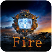 Fire Next Launcher 3D Theme