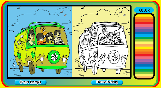 How To Color SCOOBY DOO - náhled