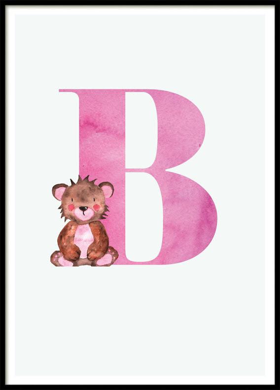 Letter B, Poster