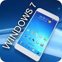 Blue Windows Go Launcher Theme icon