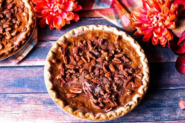 Sweet Potato Pie With A Golden Brown Crust.