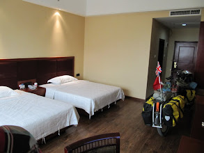 Photo: Day 210 - Our 5 Star Hotel in  Dianbai #2