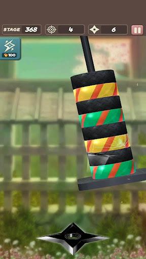 Code Triche ninja star shuriken APK MOD screenshots 2