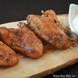 Salt and Vinegar Wings.