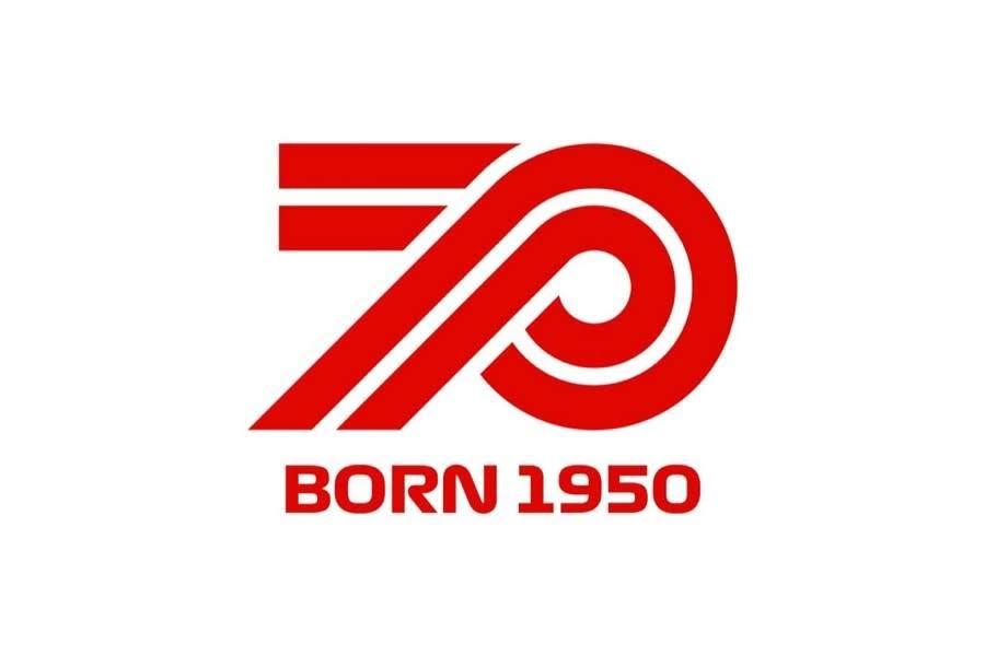 2020年F1ロゴ70周年 BORN 1950