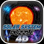 Solar System Puzzle 4D