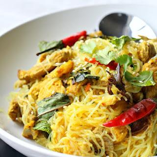MasterChef Recipe: Thai Vermicelli with Lemongrass & Pork (GF, Dairy Free, Oil-Free)