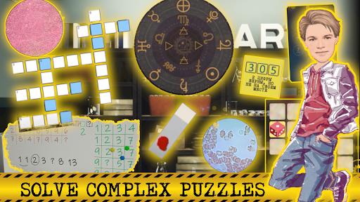 Detective Max Mysteryu2014School Murder. Offline games android2mod screenshots 8