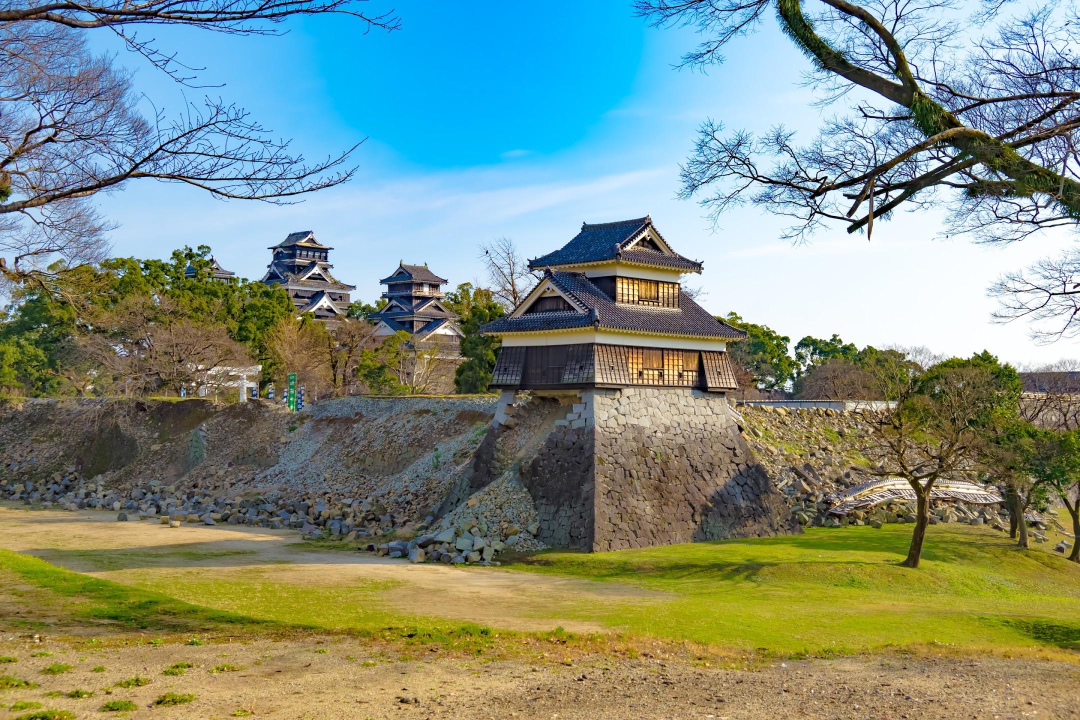 Kumamoto Castle Inui Turret
