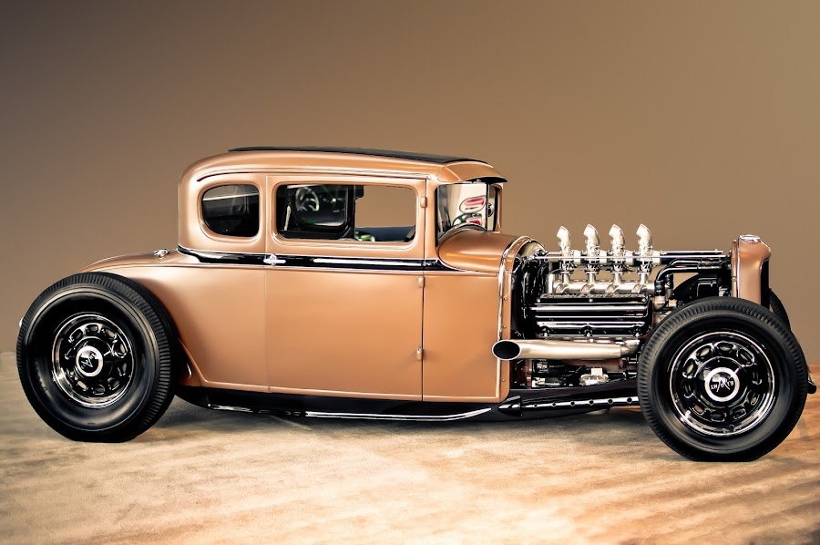 Brown by Boyd Smith - Transportation Automobiles ( v8, dodge, hemi, hot rod, custom car )