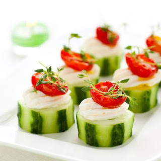 Easy Cucumber Appetizer.