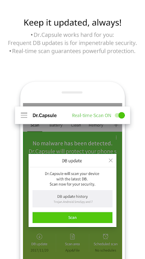 Dr.Capsule - Antivirus, Cleaner, Booster screenshot 2