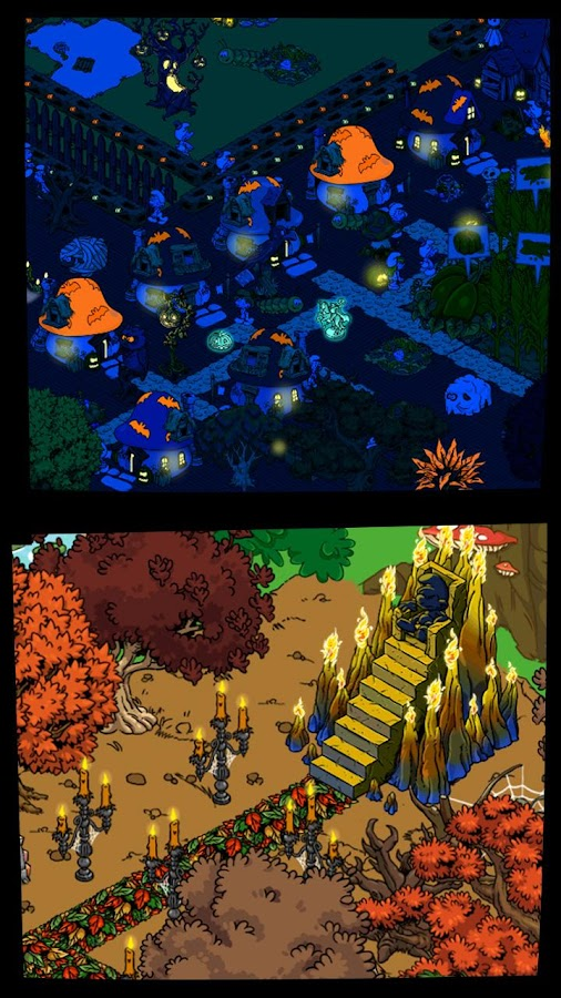 Screenshots of Smurfs' Village for iPhone