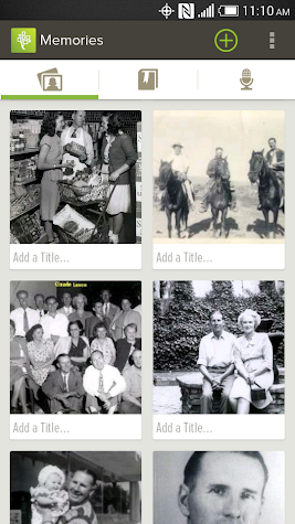 FamilySearch Memories Screenshot