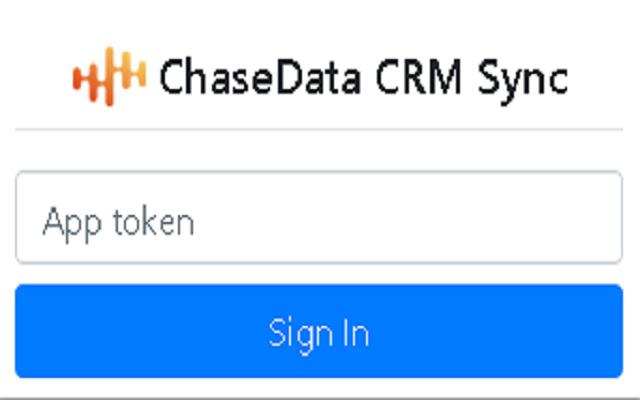 ChaseData CRM Sync