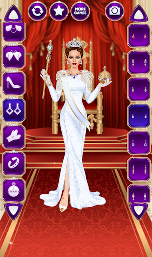 Royal Dress Up - Queen Fashion Salon for PC