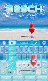 Beach-GO-Keyboard-Theme 4