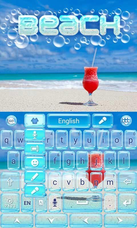 Beach-GO-Keyboard-Theme 11