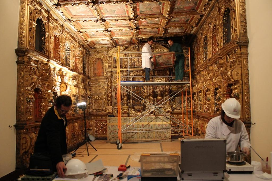 Museu inicia trabalhos de restauro da Capela de S. João Evangelista
