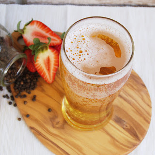Peppered Strawberry Cider