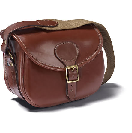 Croots Malton Bridle Leather Cartridge Bag