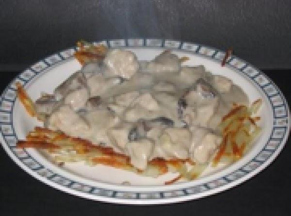 Geschnetzeltes (pork And Mushrooms) Recipe
