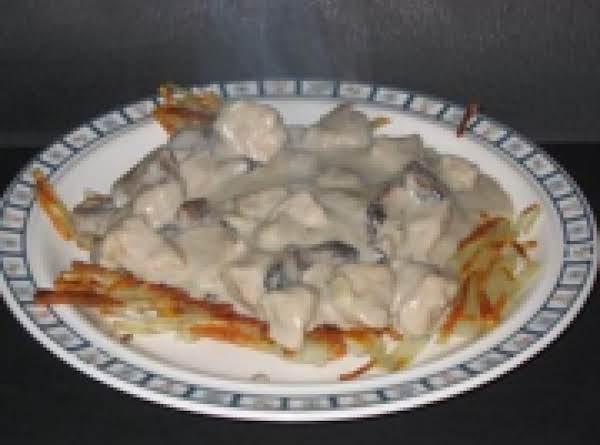 Geschnetzeltes (pork And Mushrooms)