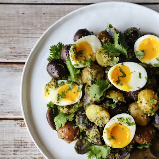 Chimichurri Potato and Egg Salad