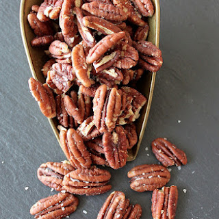 Salted Roasted Pecans.