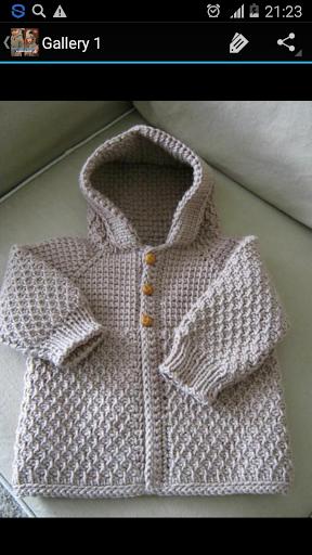 Crochet Pattern Kids Coats