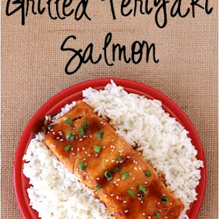 Grilled Teriyaki Salmon! Recipe