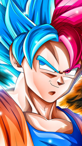 Goku Super Saiyan God Blue Wallpaper Screenshot 3