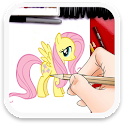 How to Draw Fluttershy icon
