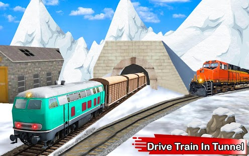 Fast Train Driving Simulator 2018 3D- screenshot thumbnail