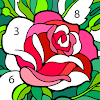 Happy Color – 컬러링북, 숫자 색칠 게임 대표 아이콘 :: 게볼루션