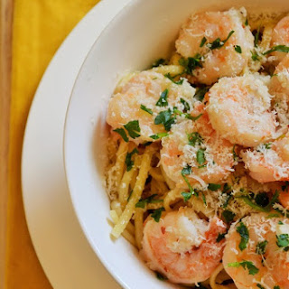 Spicy Shrimp Scampi