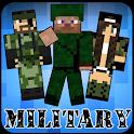 皮肤军方的Minecraft icon